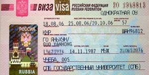 Russisch Visum