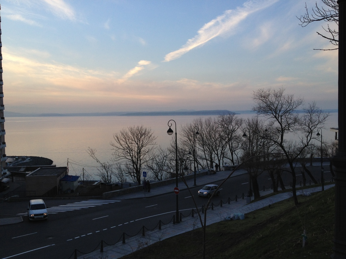 Amoersky Baai in Vladivostok